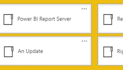 Five Features that should (finally) make it to Power BI Report Server